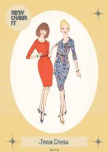 Vintage Style 1960's 'Joan' Dress Pattern